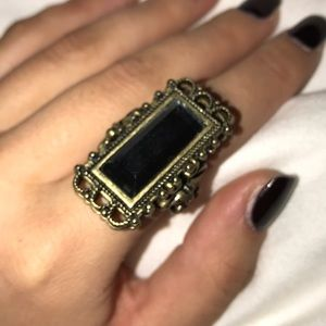 Jewelmint mirror antique bronze ring